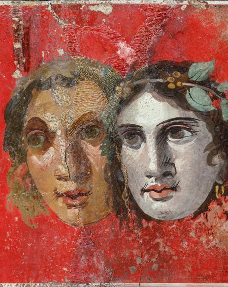 Teatro antico maschere