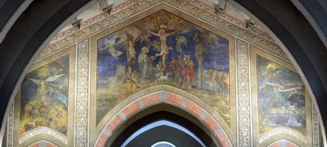 Morgari San Gregorio Crocifissione