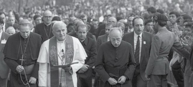 Carlo Mazza Sacro Monte Varese Giovanni Paolo II Carlo Maria Martini 1984