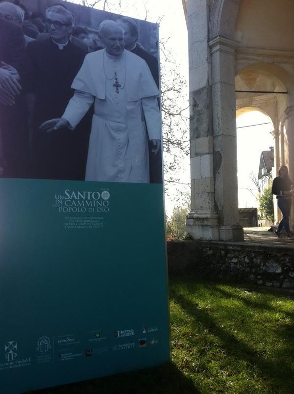Giovanni Paolo II_Sacro Monte