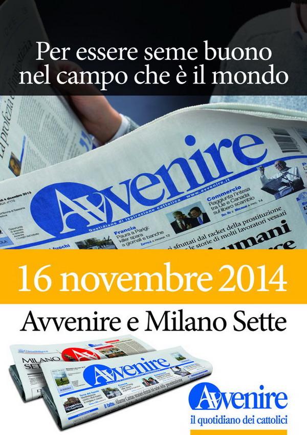 $ Locandina Avvenire e Milano Sette 2014.qxd:$1-2 pag SITO.qxd