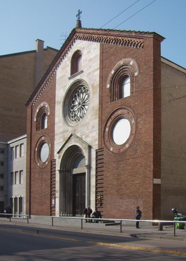 tempio valdese via sforza milano