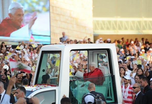 Papa in Libano_2012