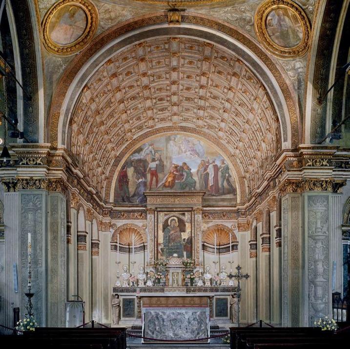 Bramante coro Santa Maria San Satiro