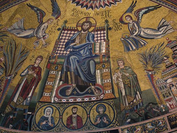 sant ambrogio mosaico absidale