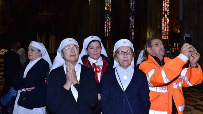 Messa per i malati Duomo Madonna di Fatima