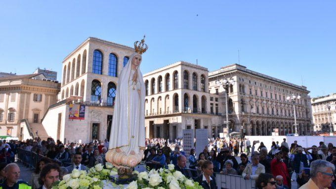 Madonna di fatima in Duomo