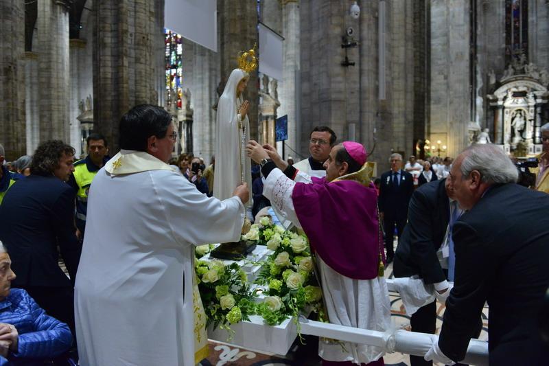 Madonna di Fatima Messa con monsignor Delpini
