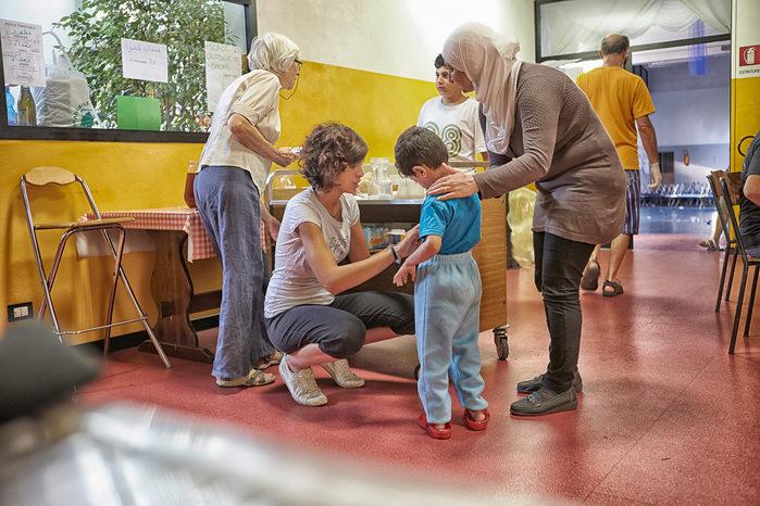 profughi casa della carità