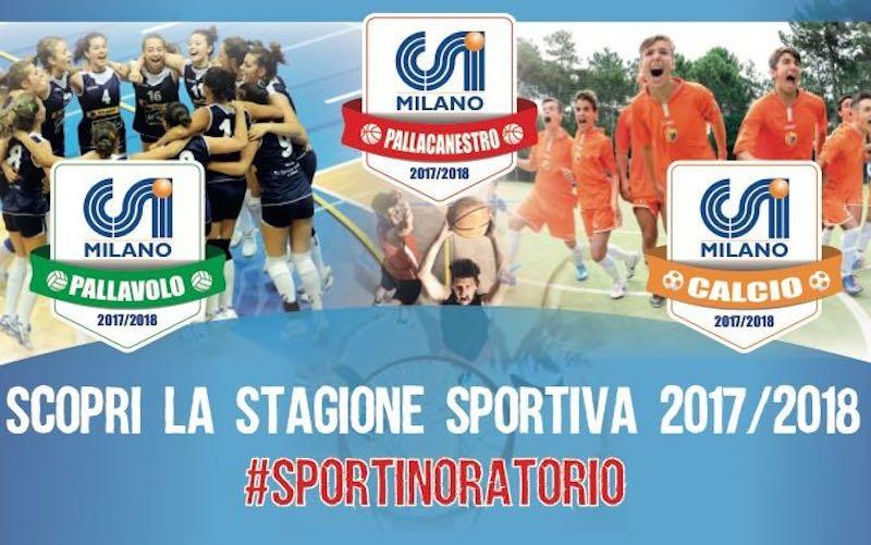 Stagione Sportiva CSI Milano