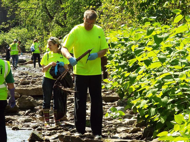 Volontariato pulizia ambiente