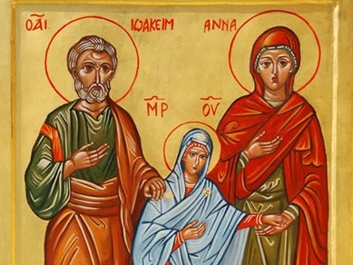 St. gioacchino e anna