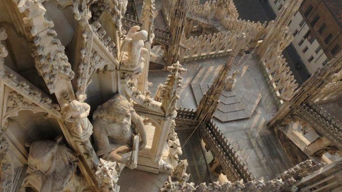 guglie del Duomo di Milano