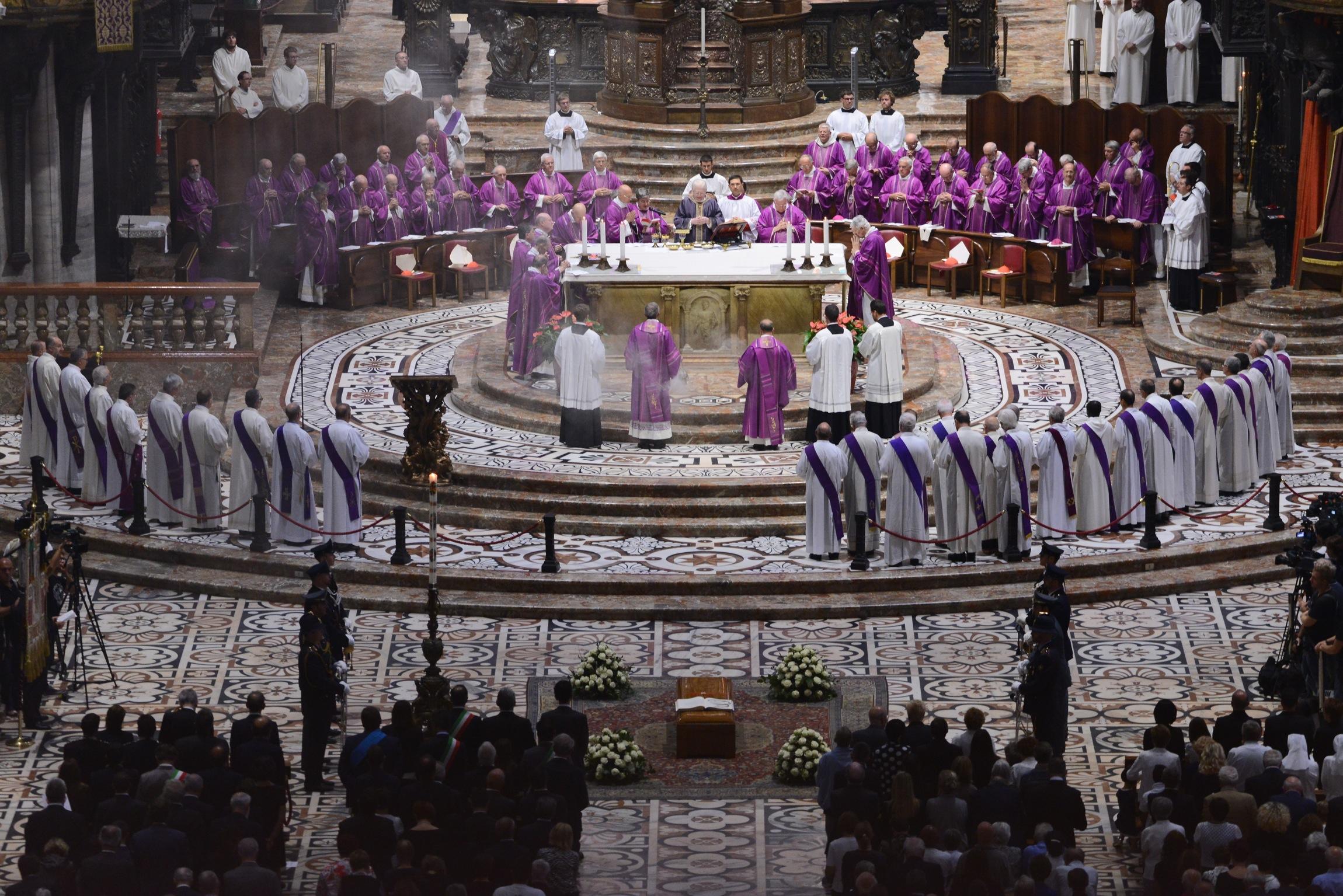 funerali Dionigi Tettamanzi