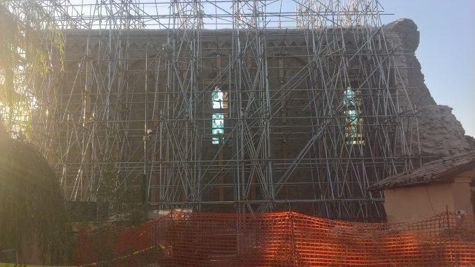 I resti della chiesa di S. Agostino_1