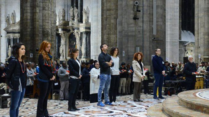 Veglia Missionaria in Duomo presieduta al card. Angelo Scola.