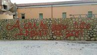 Murales di fianco al tendone Caritas