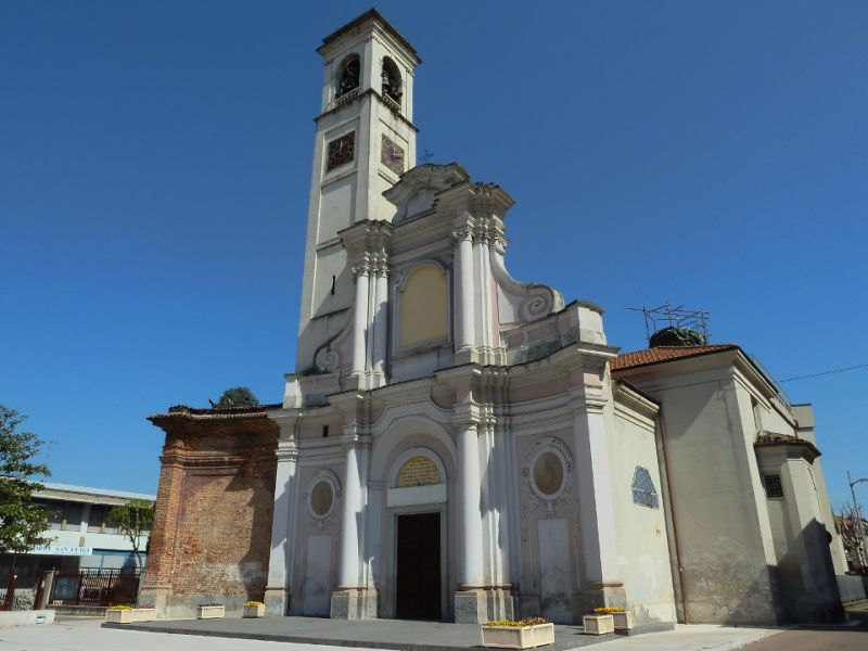 San giuliano martire in San Giuliano milanese