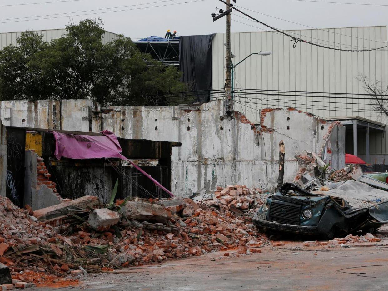 Terremoto Messico 2017