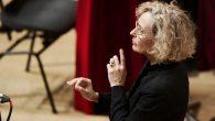 Erina Gambarini dirige il Coro Sinfonico de laVerdi nella Nona al piano con Maurizio Baglini - 4 feb 2016 - foto Paolo Dalprato (4)