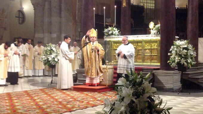 Messa per Giovanni Paolo II