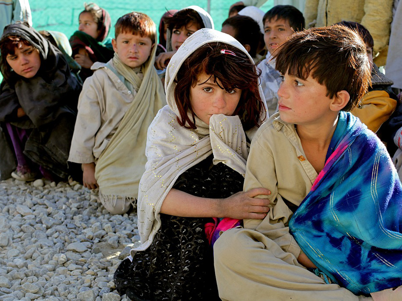 children bambini afghani