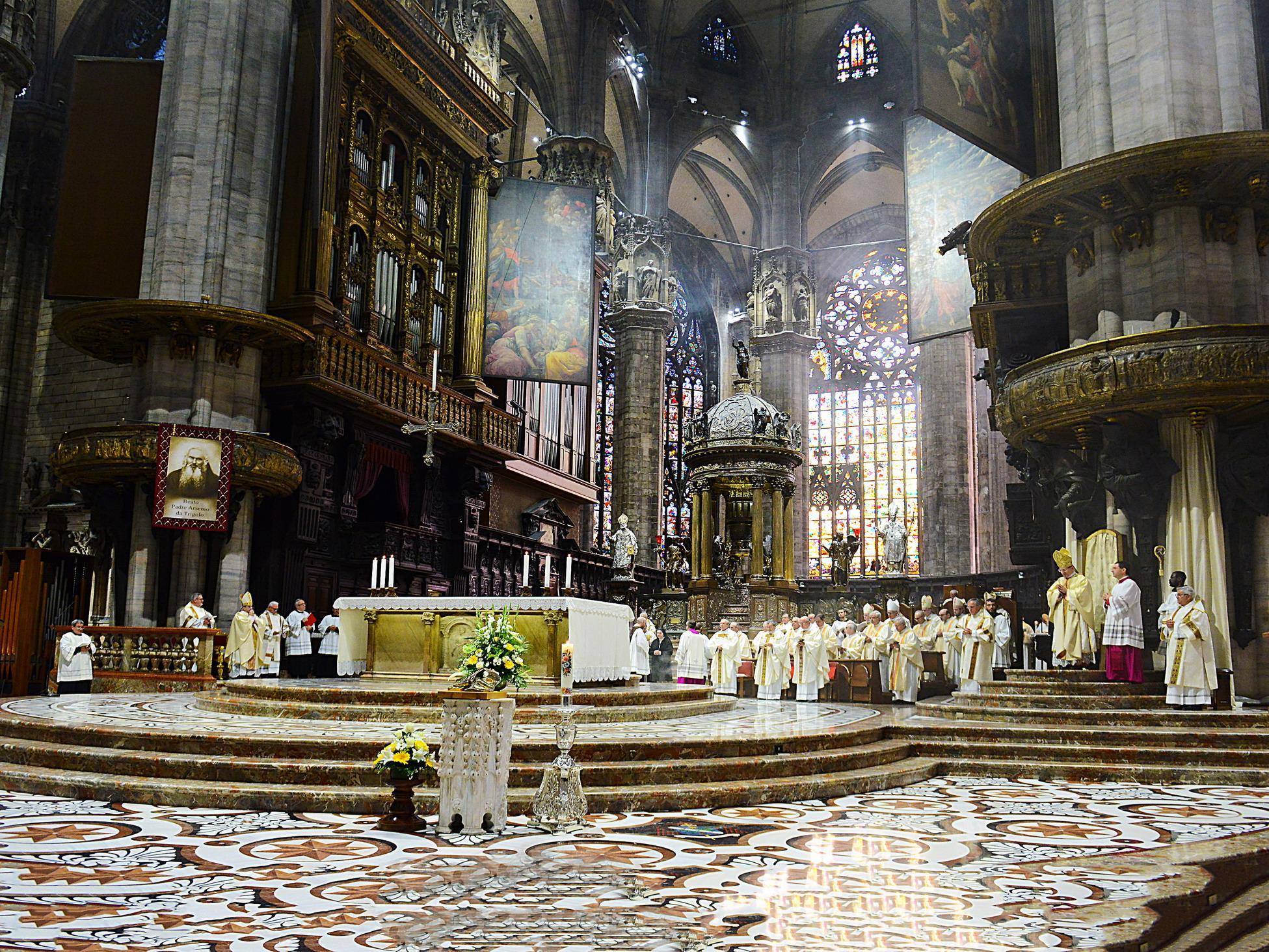 padre Arsenio da Trigolo beatificazione Duomo