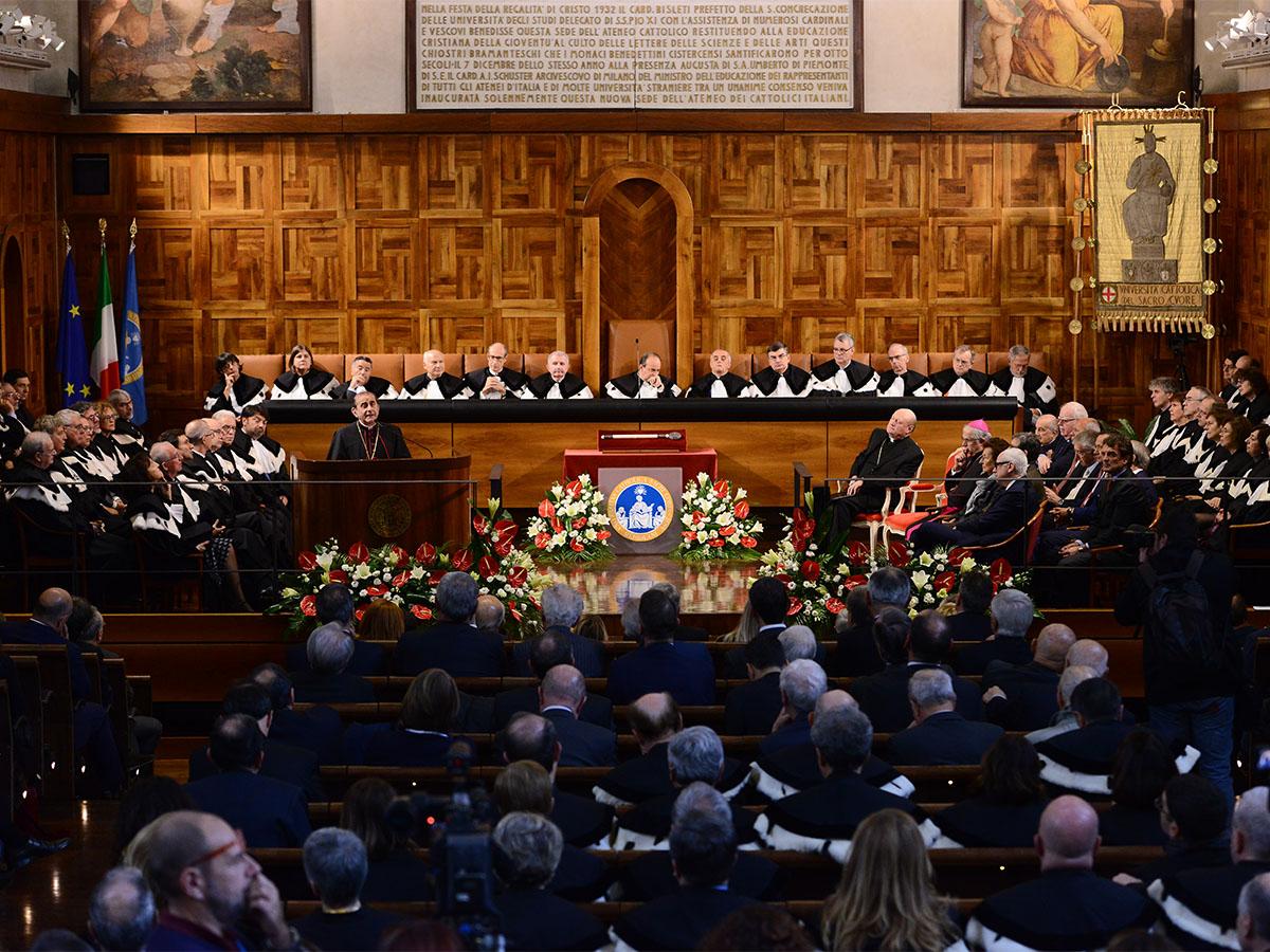 delpini università cattolica anno accademico