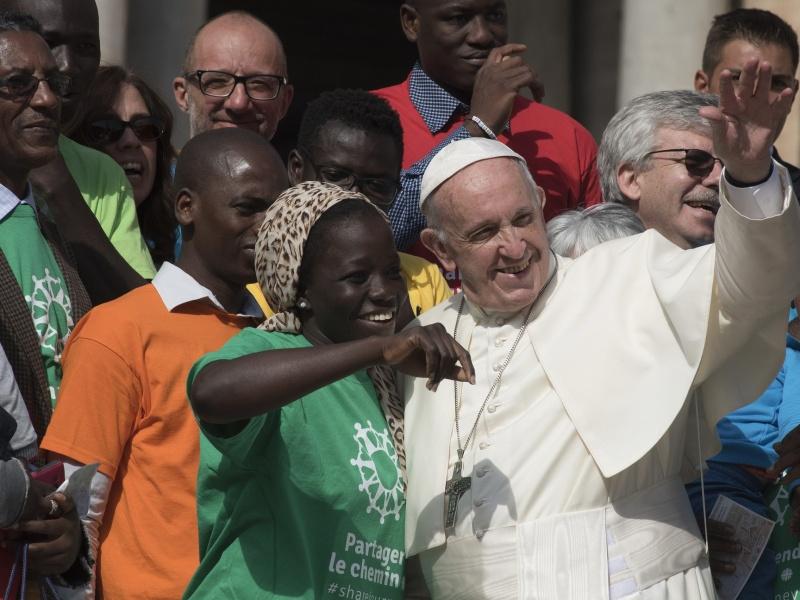 Papa e migranti