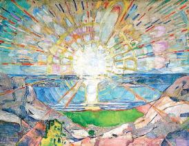 EDVARD MUNCH - The Sun (1911)