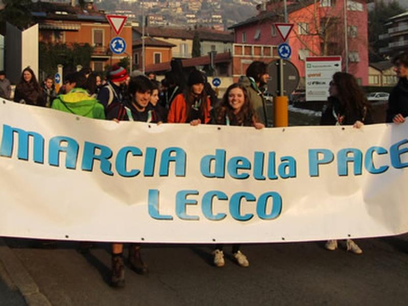 Marcia della pace a Lecco