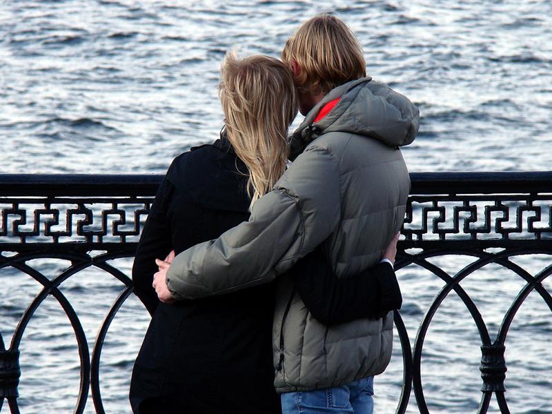 Coppia coniugi fidanzati