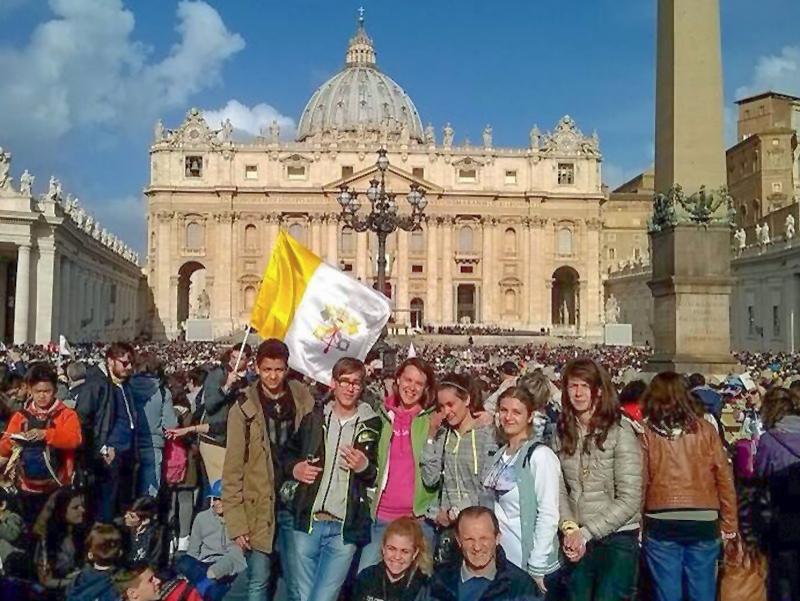 Ragazzi a Roma