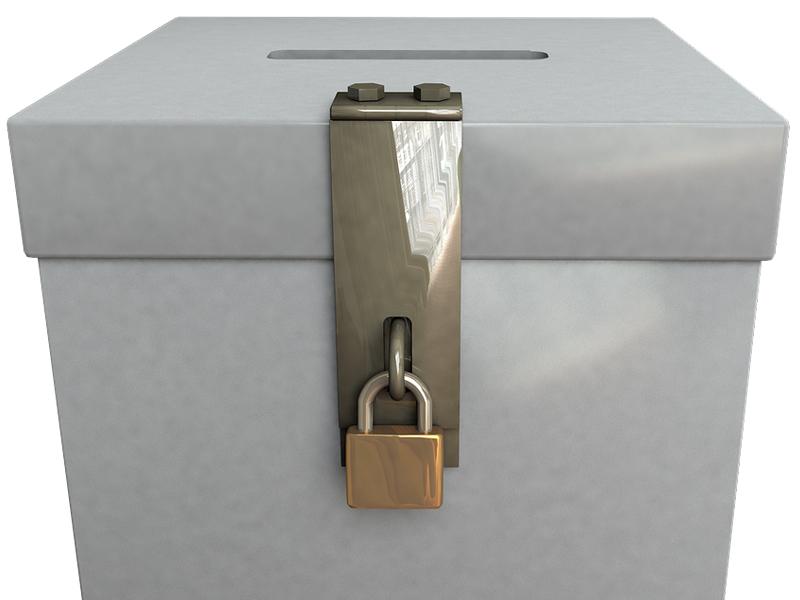 voto elezioni ballot box