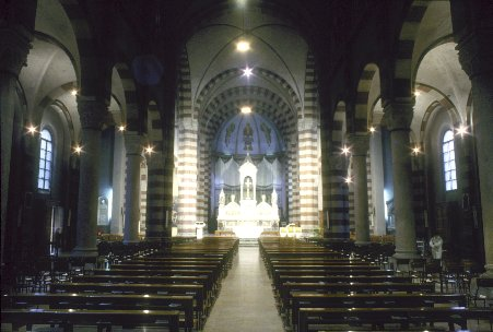 navata San pietro in sala