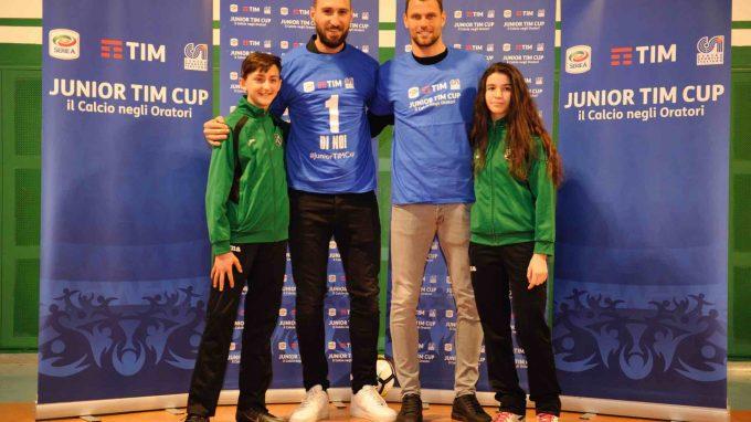 Antonio Donnarumma e Daniele Padelli alla Junior TIM Cup