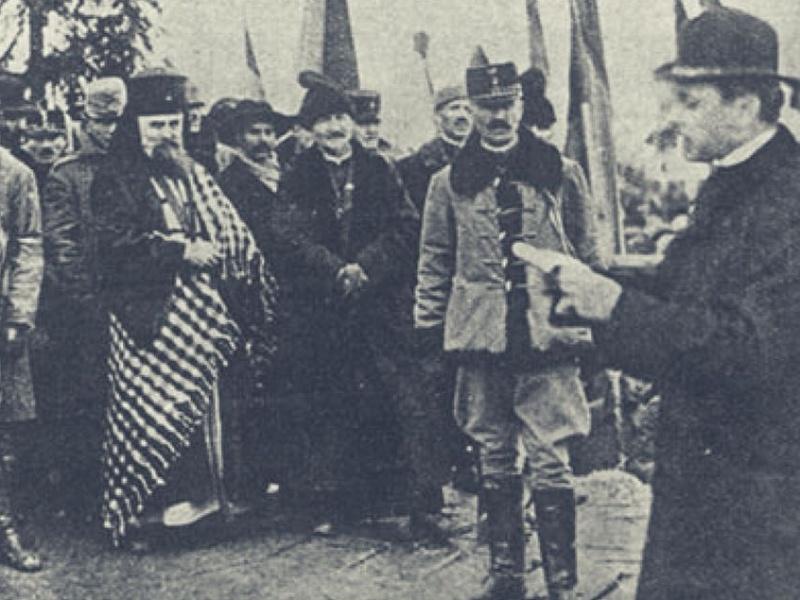 Centenario unione romania