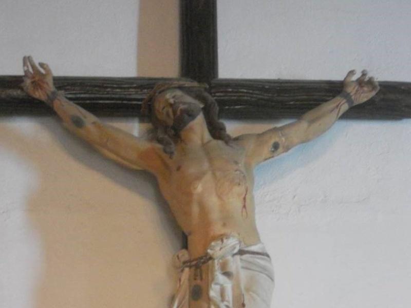 Il Crocefisso della chiesa di Contramaestre