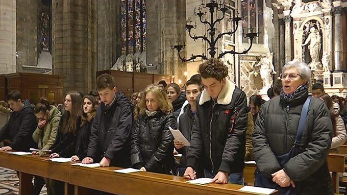 Formazione professionale Messa Duomo gente messa