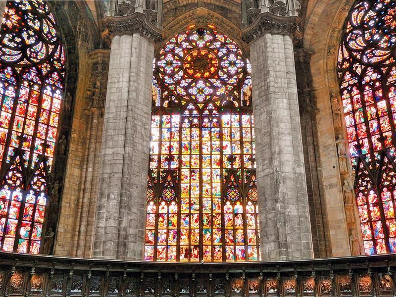 Vetrata Duomo di Milano