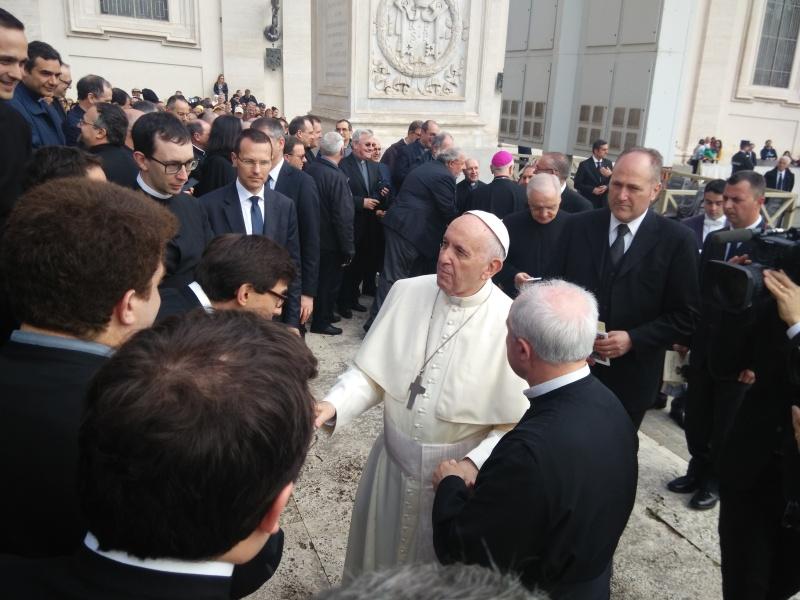 Papa e candidati 2018