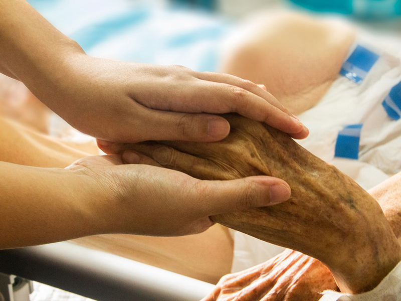 anziano malato hospice rsa