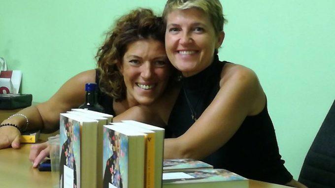Anna Savini con Elda Pontiggia, soccorritrice della Cri triangolo Lariano