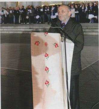 Carlo Castagna a Lourdes settembre 2010