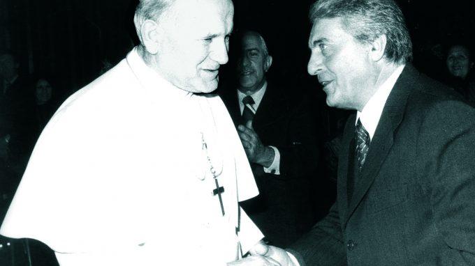 Torriani con Papa Giovanni Paolo II