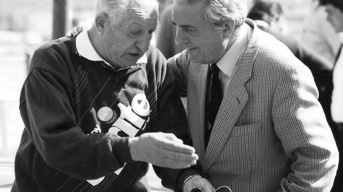 VincenzoTorriani con Gino Bartali foto fabrizio delmati