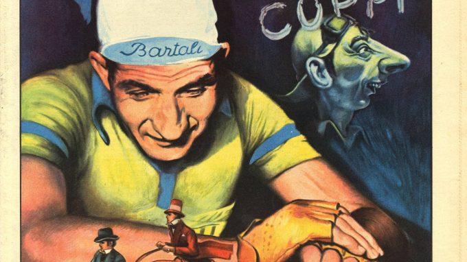 2 Una copertina del Vittorioso con il campione Gino Bartali