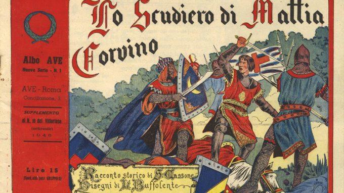 Albo Vitt Lo scudiero di Mattia Corvino, disegnato da Lina Buffolente