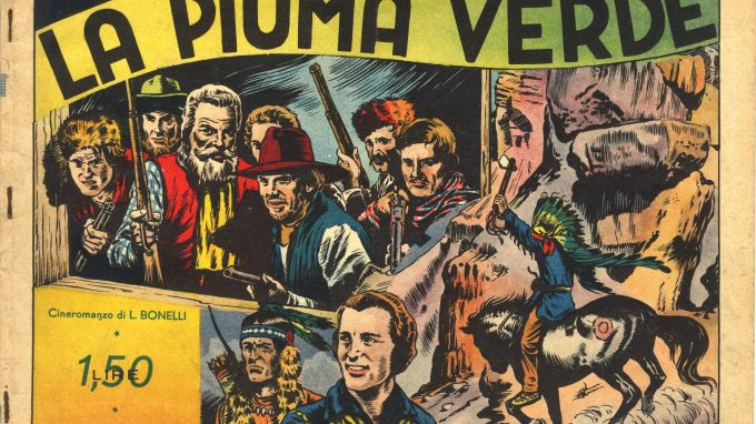 Albo Vitt con La piuma verde di Gianluigi Bonelli e Antonio Canale