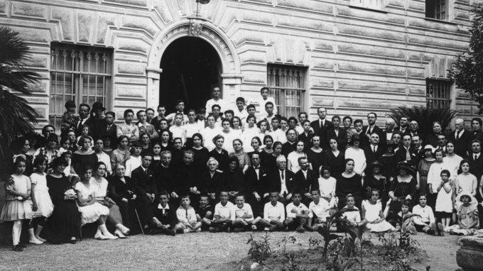 Padre Enrico Mauri_chiusura anno scolastico 1924